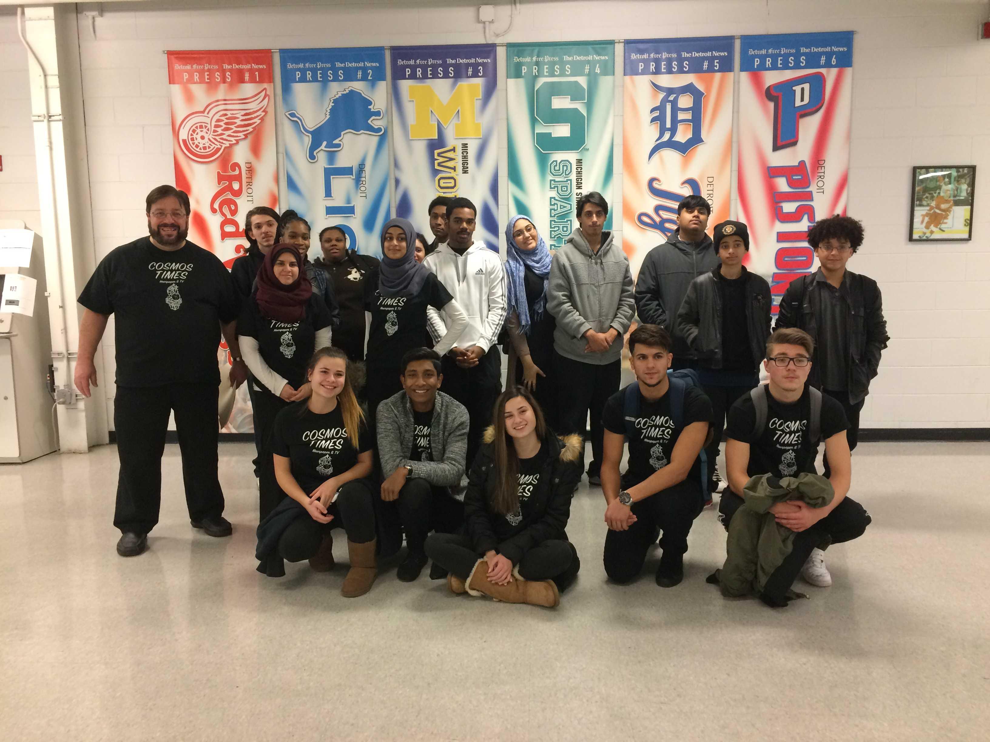 Hamtramck High School Cosmos Times staff