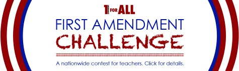 1 For All First Amendment Challenge entry form now available