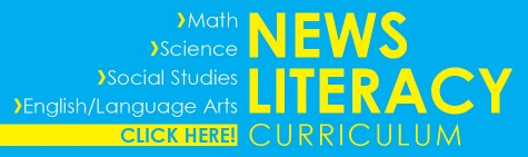 Classrooms use model news literacy lessons for English, science, math and social studies classes