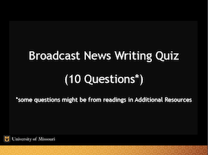 broadcast-news-writing-quiz-screenshot
