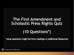 first-amendment-law-quiz-screenshot
