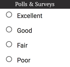 Polls & Surveys