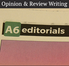 Opinion & Review Writing
