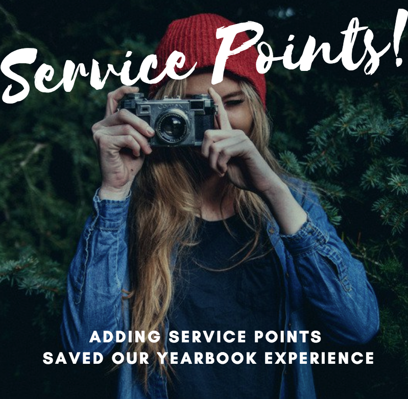 Service Points in Yearbook Generate Motivation