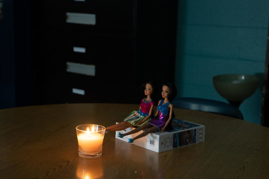 Students practiced photographing Barbies around a makeshift candle-lit campfire to understand the complexity of photographing in low lighting with fire. By using a candle and Barbies, students were able to practice analyzing exposure based on the subject of the photo (the candle or the Barbies). Be sure to check with your administration and get approval prior to this lesson as many schools have a no-candle-burning policy.