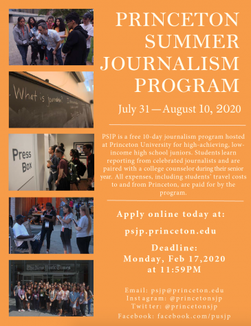 The Princeton Summer Journalism Program