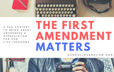 SchoolJournalism.org launches First Amendment Video PSA Contest 2020