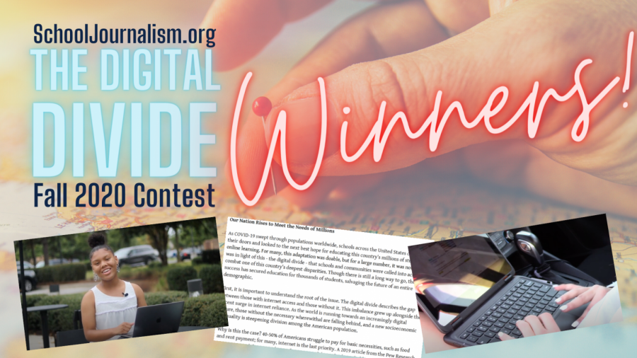 Winners Announced in the Digital Divide Contest