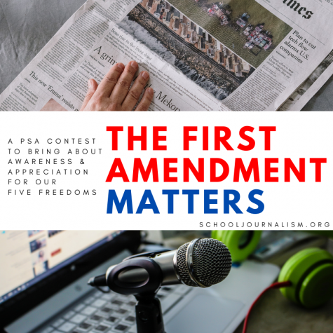 It is time for the Fifth Annual First Amendment Matters PSA Contest